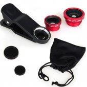 Balık Gözü Lens Fish Eye 2 Lens Tüm Modellere Uyumlu
