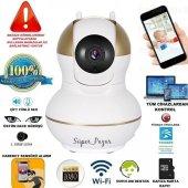 Hd 360 Wifi İp Kamera Gece Görüş Güvenlik Ve Bebek İzleme Kamera