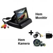 Kingvox Geri Vites Kamerası 4.3 Monitör + Kamera Ful Set