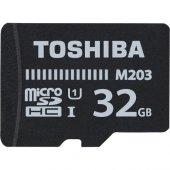 Toshiba 32GB Micro SDHC UHS-1 THN-M203K0320EA Bellek Kartı-2