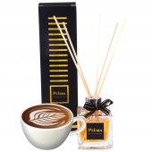 Pelara Coffee Latte Bambu Çubuklu Ortam Kokusu...