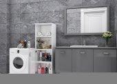 Kenzlife Dolap Çok Amaçlı Mutfak -  Banyo - Oturma Odası - Kapri -3