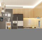 Kenzlife Dolap Çok Amaçlı Mutfak -  Banyo - Oturma Odası - Kapri -4