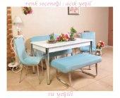 Mutfak Masası Taytüyü Kumaş Masa Sandalye Takımı B...