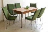 6 Kişilik Mutfak Masası Taytüyü Masa Sandalye...