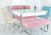 6 Kişilik Açılır Mutfak Masası Kelebek Masa...