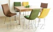 6 Kişilik Masa Sandalye Takımı Taytüyü Mutfak...