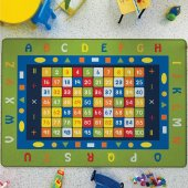 Confetti 200x290 Cm Math Anaokulu & Çocuk Odası Oyun Halısı