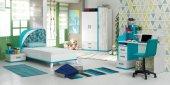 Komodin, Tiffany Genç Odası (Mavi) Komodin-2