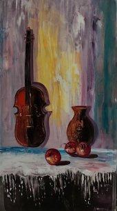 Art&Sanat Galeria Orijinal70*130 cm Yağlı Boya Tablo