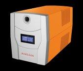 Makelsan Lıon X 2200va Lcd Usb (2x 9ah) 4 8dk