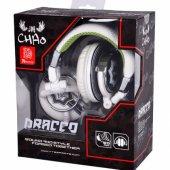 TT eSPORTS Thermaltake Tt eSPORTS DRACCO Beyaz Profesyonel Müzik Kulaklığı HT-DRA007OEWH-5