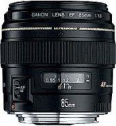 Canon Lens Ef 85mm F 1.8 Usm Eosef85 1,8usm