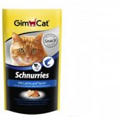 Gimcat Schnurries Balıklı Kedi Ödül Tableti 40...