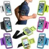 Samsung Note 2 3 4 5 6 7 8 Yürüyüş Koşu Spor Kol Bandı Telefon Kılıfı
