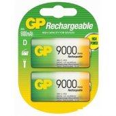 Gp 9000 Mah D Size Büyük Boy Pil 2li Blister