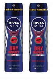 Nıvea Men Dry Impact Sprey Anti Perspirant...