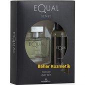 Equal Sense Edt 75 Ml Erkek Parfümü + 150 Ml...