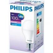 Philips Essential 14 W 100w Led Ampul Beyaz Işık E...