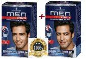 Schwarzkopf Men Perfect 90 Siyah Saç Boyası 2 Adet