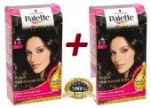 Palette Deluxe 3.0 Koyu Kakao Saç Boyası 2 Adet