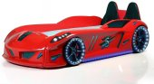 Arabalı Yatak Jaguar Extreme Koltuklu, Full Ledli