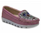 Shoes 4 Renk Kız Çocuk Babet Ayakkabı Abiye...