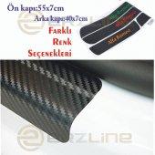 Renault Kadjar Karbon Kapı Eşiği Sticker (4 Adet)-5