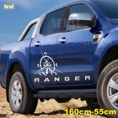 Ford Ranger Pusula Off Road Oto Sticker 1 Adet