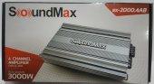 Soundmax Sx 2000.4ab 3000w 4 Kanal Profesyonel Oto...