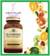 Solgar Cranberry With Vitamin C 60 Kapsül