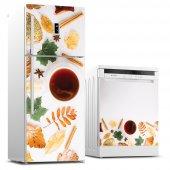 Buzdolabı Ve Bulaşık Makinesi İkili Sticker Seti Bbm000000038