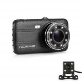 AngelEye KS-521 Dual Lens 4inç 1080P HD Araç Kamera