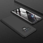 Samsung Galaxy Note 9 Kılıf Ays Kapak Siyah
