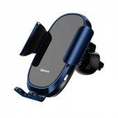Baseus Smart Car Mount Cell Phone Holder Telefon Tutucu Mavi-2