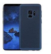 Samsung Galaxy A8 2018 Kılıf Delikli Rubber Kapak-3