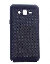 Samsung Galaxy J7 Core Kılıf Delikli Rubber Kapak-6