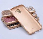 Samsung Galaxy J6 Kılıf Mat Lazer Taşlı Silikon-6