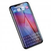 Baseus 0.2mmAnti Blue Light iPhone XS Max6.5/XR6,1 Ekran Koruyucu-6