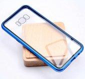 Samsung Galaxy S8 Kılıf Devrim Mıknatıslı Cam Kapak-3