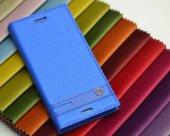 Sony Xperia XA Kılıf Elite Kapaklı Kılıf Mavi