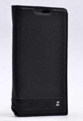 Lenovo A2010 Kılıf Elite Kapaklı Kılıf Siyah