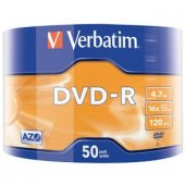 Verbatim Dvd R 4.7 Gb Cace Box (1 Paket)