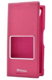 Sony Xperia Z5 Premium Kılıf Dolce Case kapaklı-4