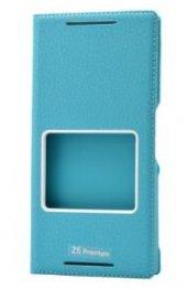Sony Xperia Z5 Premium Kılıf Dolce Case kapaklı-6