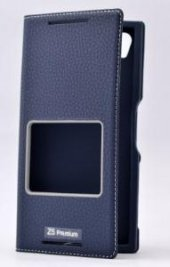 Sony Xperia Z5 Premium Kılıf Dolce Case kapaklı-7