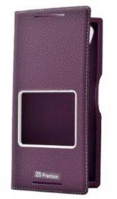 Sony Xperia Z5 Premium Kılıf Dolce Case kapaklı-8