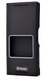 Sony Xperia Z5 Premium Kılıf Dolce Case kapaklı-9