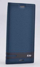 HTC Desire 530 Kılıf Elite Kapaklı Kılıf Lacivert