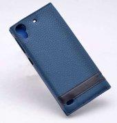 HTC Desire 530 Kılıf Elite Kapaklı Kılıf Lacivert-3